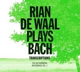 PLAYS BACH TRANSCRIPTIONS VALTHERMOND RECORDINGS VOL.1/ARR.BY LISZT/BUSONI/BRAHMS RIAN DE WAAL, CD