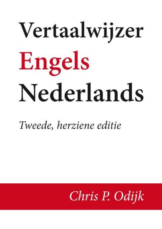 Vertaalwijzer Engels-Nederlands Chris P. Odijk, Paperback