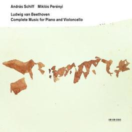 COMPLETE MUSIC FOR PIANO W/ANDREAS SCHIFF, MIKLOS PERENYI Audio CD, L. VAN BEETHOVEN, CD