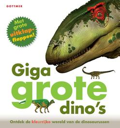 Giga grote dino's met grote uitklapflappen, Marie Greenwood, Hardcover