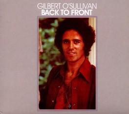 BACK TO FRONT ORIGINAL ALBUM REMASTERED W/3 BONUS TRACKS GILBERT O'SULLIVAN, CD