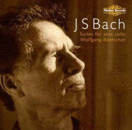 CELLO SUITS BWV1007-10012 WOLFGANG BOETTCHER Audio CD, J.S. BACH, CD
