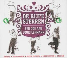 De Rijpe Sterren ..LOUIS LEHMANN W/SMALTS/GUUS JANSSEN/A.O. 2CD+1DVD een ode aan Louis Lehmann, Louis Lehmann, DVDNL