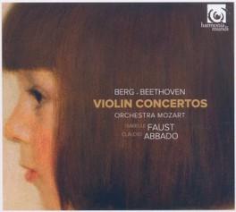 VIOLIN CONCERTOS ORCHESTRA MOZART/CLAUDIO ABBADO BERG/BEETHOVEN, CD