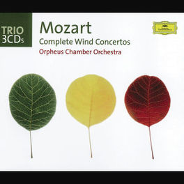 COMPLETE WIND CONCERTOS ORPHEUS CHAMBER ORCHESTRA Audio CD, W.A. MOZART, CD