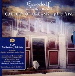 GALLERY OF DREAMS FEAT. STEVE HACKETT/PLUS LIVE GANDALF, CD