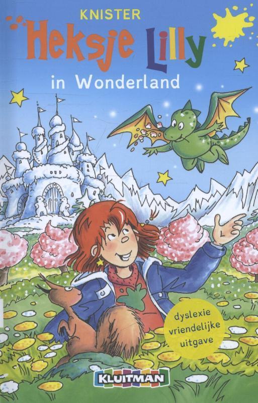 Heksje Lilly in Wonderland dyslexie 8+, Knister, Hardcover