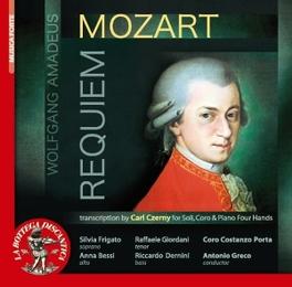 REQUIEM/AVE CORPUS CORO CANTICUM NOVUM/F.CIOFINI W.A. MOZART, Vinyl LP