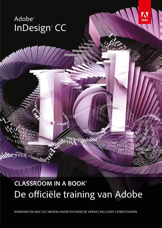 Adobe indesign CC classroom in a book de officiele training van Adobe, Adobe Creative Team, Paperback