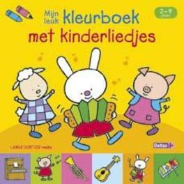 Lange Oortjes Kleurboek met Kinderliedjes
