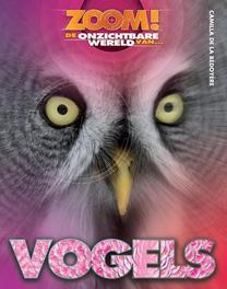 Vogels ZOOM!, De la Bédoyère, Camilla, Hardcover
