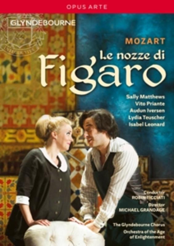 LE NOZZE DI FIGARO ORCHESTRA AGE OF ENLIGHTMENT W.A. MOZART, DVDNL