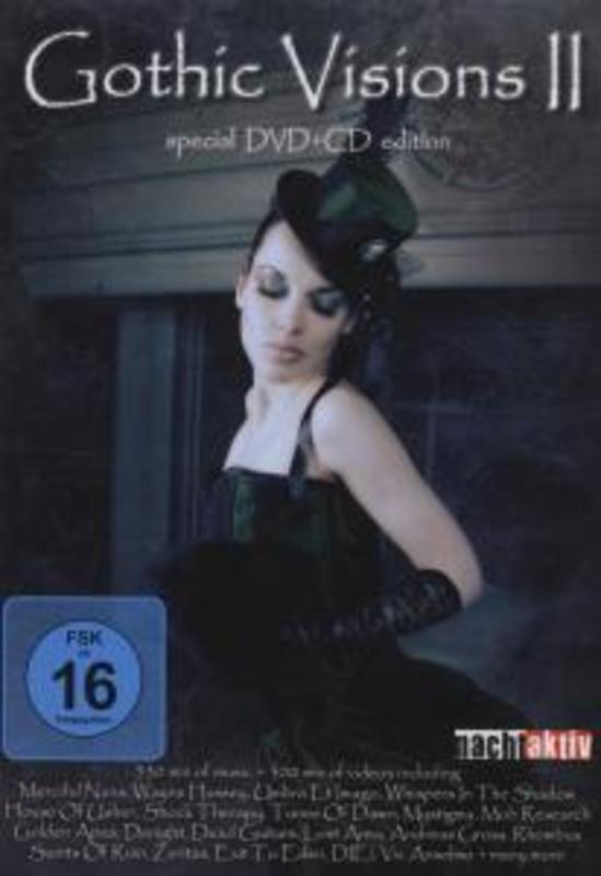 Gothic Visions 2 -Dvd+Cd-