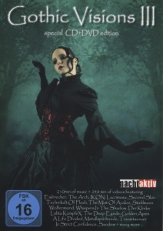 Gothic Visions 3 -Dvd+Cd-