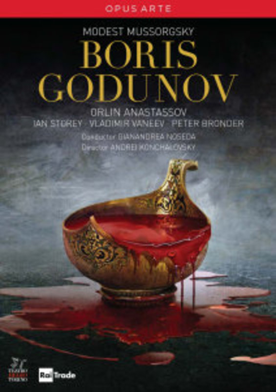 BORIS GODUNOV, MUSSORGSKY, MODEST, NOSEDA, G. G.NOSEDA/ANASTASSOV/NTSC/ALL REGIONS M. MUSSORGSKY, DVDNL
