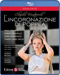 Persson/Connolly/Baroque Orchestra - L Incoronazione Di Poppea, (Blu-Ray) BAROQUE ORCHESTRA/H.BICKET C. MONTEVERDI, BLURAY