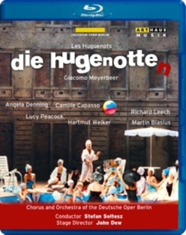 Denning,Peacock,Leech - Die Hugenotten, Berlijn 1991, (Blu-Ray) BERLIN 1991/STEFAN SOLTESZ G. MEYERBEER, BLURAY