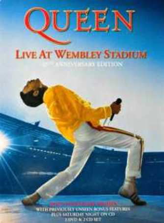 Queen - Live At Wembley Stadium, (DVD) DELUXE 25TH ANNIVERSAY EDITION