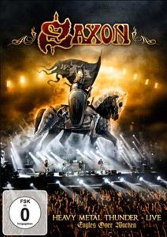 Saxon - Heavy Metal Thunder - Live - E, (DVD) SAXON, DVDNL