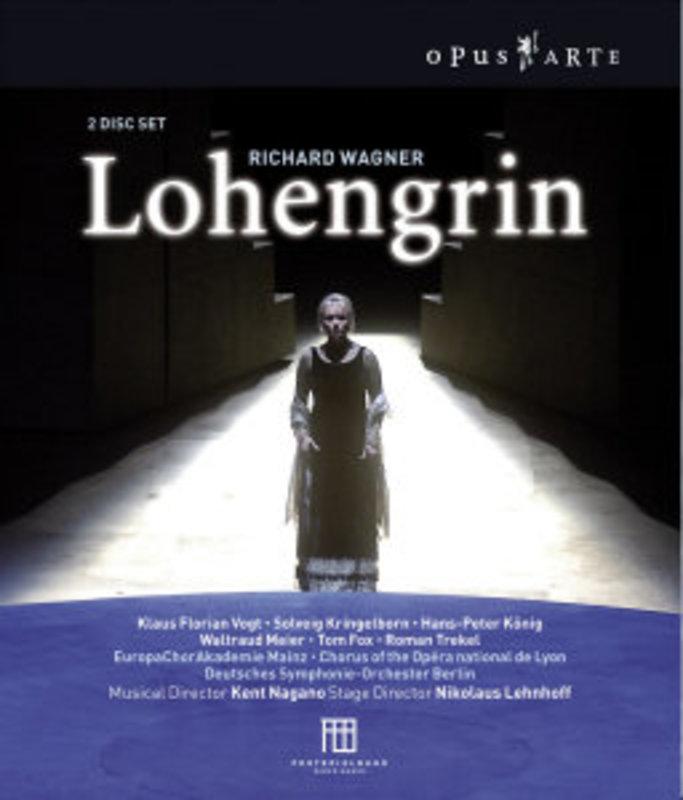 LOHENGRIN, WAGNER, RICHARD, NAGANO, K. DEUTCHS SYMPHONIE/KLAUS FLORIAN VOGT/SOLVEIG KRINGELBOR DVD, R. WAGNER, DVD