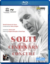 Pape Angela Gheorghiu - Solti Centenary Concert Chicago 201, (Blu-Ray) .. CHICAGO 2012 GEORG SOLTI, Blu-Ray