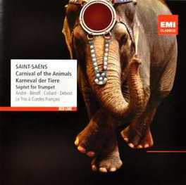 LE CARNAVAL DES ANIMAUX MICHEL BEROFF/JEAN-PHILIPPE COLLARD SAINT-SAENS, C., Audio Visuele Media