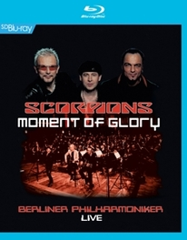 Scorpions - Moment Of Glory, (Blu-Ray) WITH THE BERLINER PHILHARMONIKER SCORPIONS, Blu-Ray