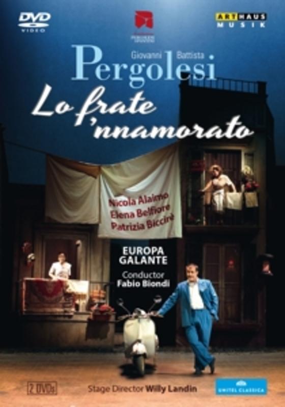 Alaimo,Belfiore,Biccire - Lo Frate 'Nnamorato, Jesi 2011, (DVD) .. JESI 2011 G.B. PERGOLESI, DVD