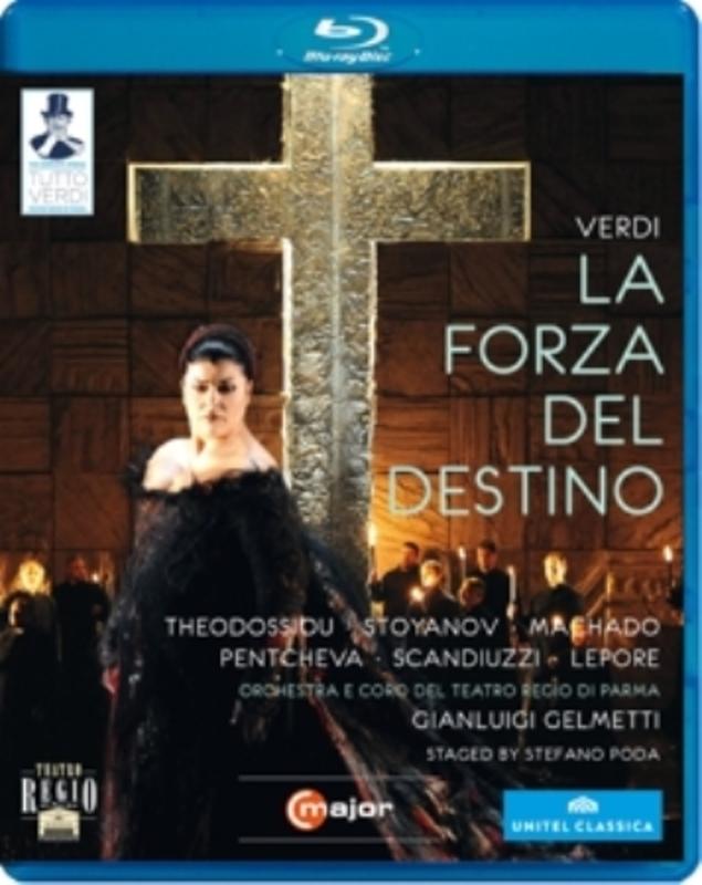Theodossiou,Machado,Lepore - La Forza Del Destino, Parma 2011, B, (Blu-Ray) PARMA 2011 G. VERDI, BLURAY