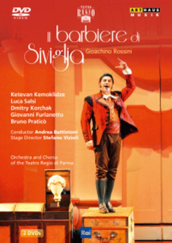 Gioachino Rossini - Il Barbiere Di Siviglia (Regio Di Parma 2011) (Dvd)