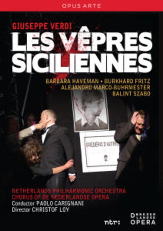Haveman/Aghova/De Nederlandse Opera - Les Vepres Siciliennes, (DVD) DE NEDERLANDSE OPERA/P.CARIGNANI // NTSC/ALL REGIONS G. VERDI, DVDNL