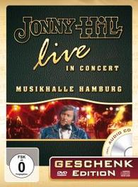LIVE IN.. -DVD+CD- .. CONCERT - GESCHENKEDITION JONNY HILL, DVDNL
