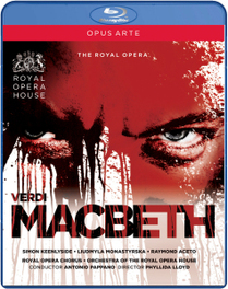 Keenlyside/Aceto/Monastryrska/Royal - Macbeth, (Blu-Ray) ANTONIO PAPPANO // ROYAL OPERA HOUSE G. VERDI, Blu-Ray