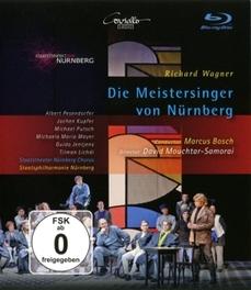 DIE MEISTERSINGER VON NUR STAATSPHILHARMONIE NURNBERG/MARCUS BOSCH R. WAGNER, Blu-Ray