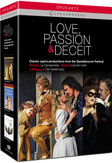 London Philharmonic/Orch. Of The Ag - Love, Passion & Deceit, (DVD) LONDON PHILHARMONIC ORCHESTRA/FISCHER