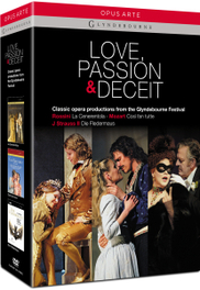 London Philharmonic/Orch. Of The Ag - Love, Passion & Deceit, (DVD) LONDON PHILHARMONIC ORCHESTRA/FISCHER ROSSINI/MOZART/STRAUSS, DVDNL