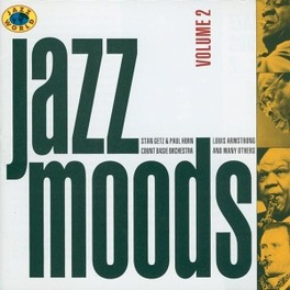 JAZZ MOODS 2 STAN GETZ/DAVE BRUBECK Audio CD, V/A, CD
