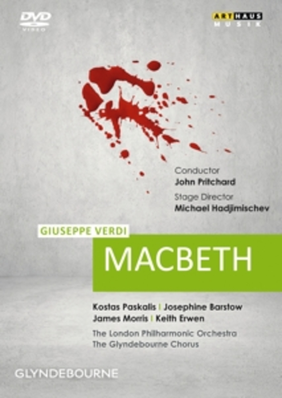 MACBETH GLYNDEBOURNE FESTIVAL 1972 // NTSC/ALL REGIONS G. VERDI, DVDNL