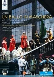 Meli,Stoyanov,Lewis,Fiorillo - Un Ballo In Mascherra, Parma 2011, (DVD) PARMA 2011 // NTSC/ALL REGIONS