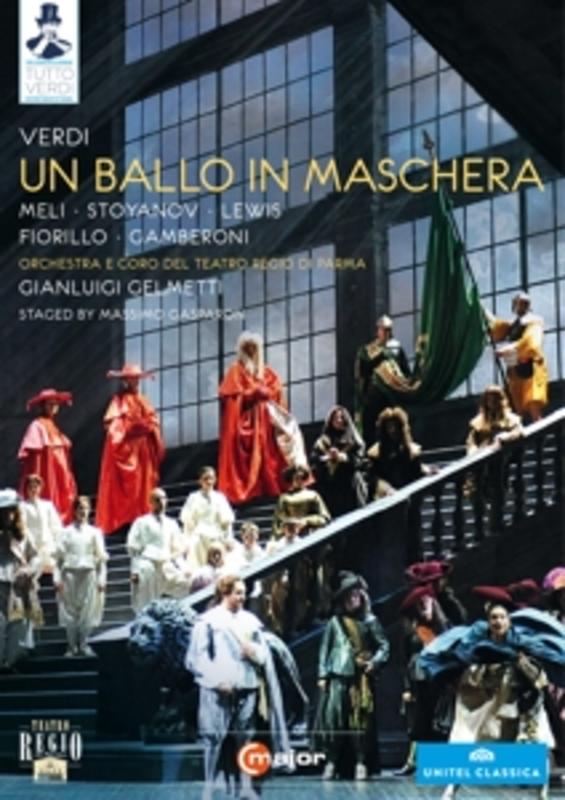 Meli,Stoyanov,Lewis,Fiorillo - Un Ballo In Mascherra, Parma 2011, (DVD) PARMA 2011 // NTSC/ALL REGIONS G. VERDI, DVDNL