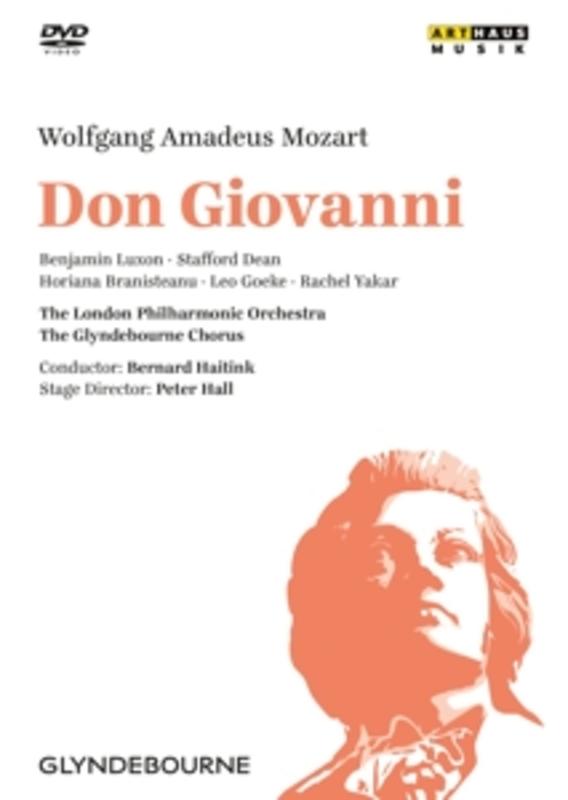 Luxon,Dean,Branisteanu - Don Giovanni, Glyndebourne 1977, (DVD) GLYNDEBOURNE 1977 W.A. MOZART, DVD