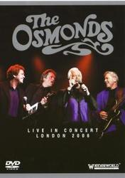 THE OSMONDS LIVE IN..