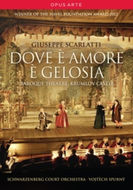 DOVE E AMORE E GELOSIA SCHWARZENBERG COURT ORCHESTRA // NTSC/ALL REGIONS A. SCARLATTI, DVDNL