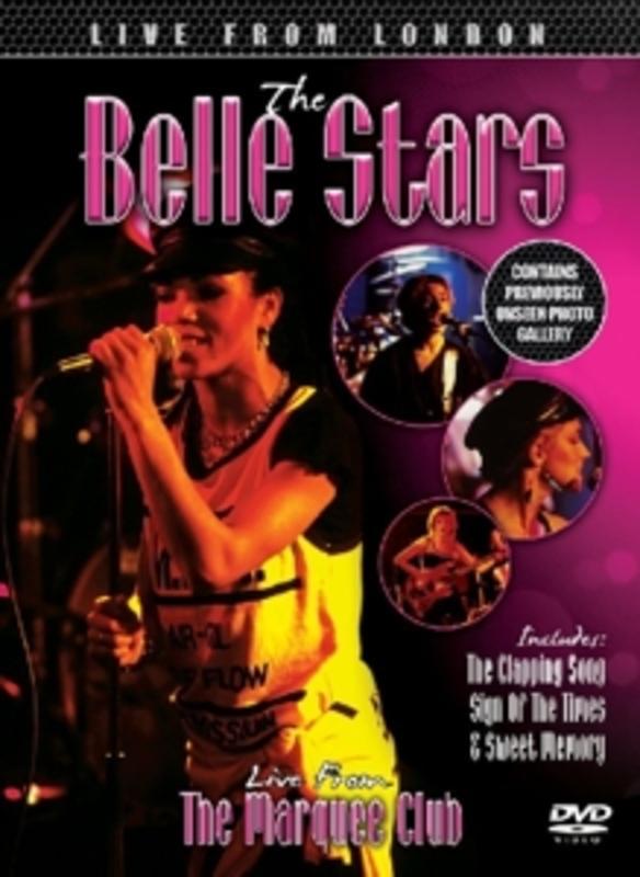 LIVE FROM LONDON -DIGI- BELLE STARS, DVD