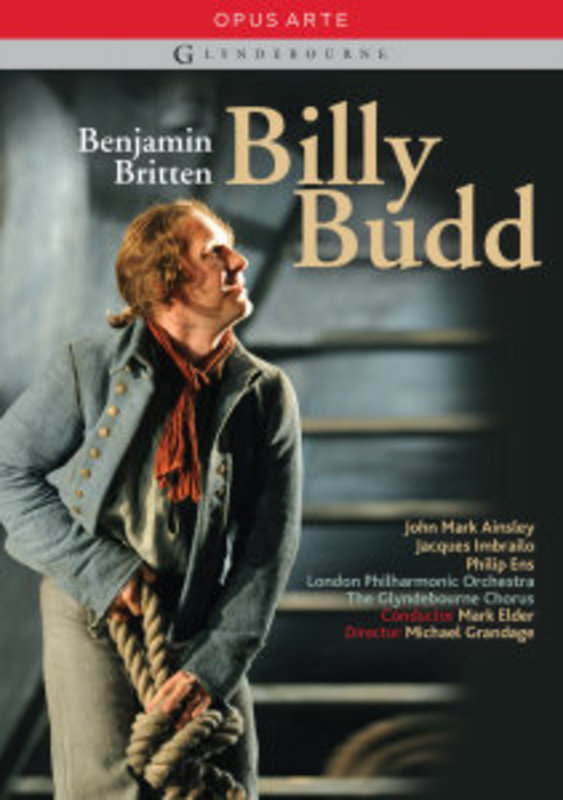 BILLY BUD, BRITTEN, BENJAMIN, ELDER, M. LONDON PHILHARMONIC ORCHESTRA/NTSC/ALL REGIONS DVD, B. BRITTEN, DVDNL