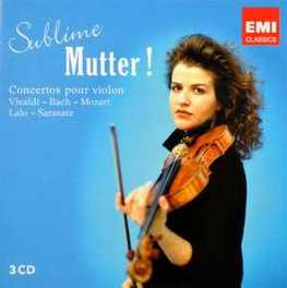 SUBLIME MUTTER! MUTTER, ANNE-SOPHIE, CD