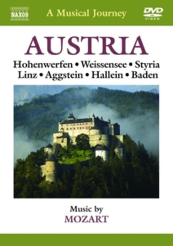 Various - A Musical Journey: Austria, (DVD) NTSC W.A. MOZART, DVDNL