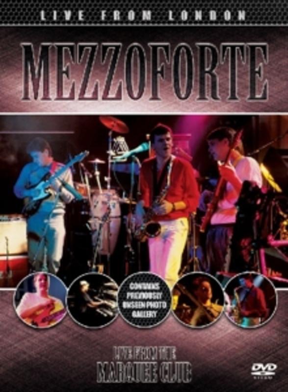 LIVE FROM LONDON MEZZOFORTE, DVDNL