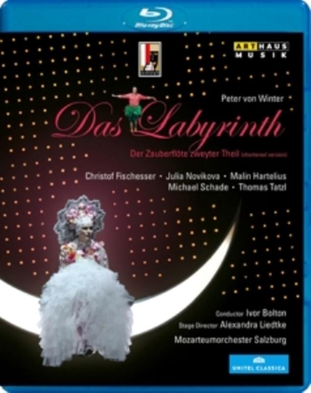 Fischesser Novikova - Das Labyrinth, Salzburg 2012, Br, (Blu-Ray) SALZBURG 2012 // NOVIKOVA, FISCHESSER PETER VON WINTER, BLURAY