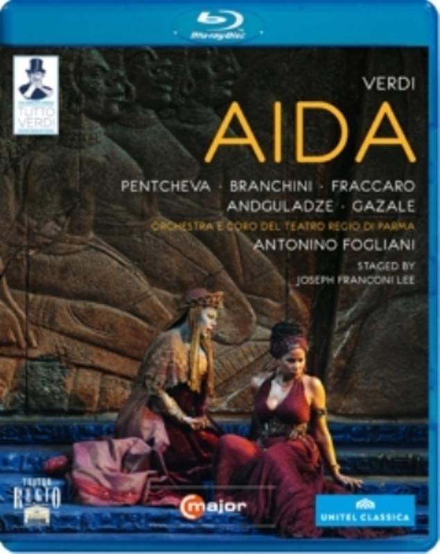 AIDA PARMA 2012/W/PENTCHEVA/BRANCHINI/FRACCARO G. VERDI, Blu-Ray